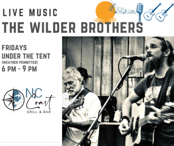 NC Coast Grill & Bar, The Wilder Brothers